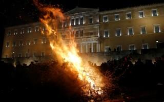 Atena, protest - Getty