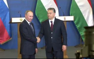 Putin si Viktor Orban