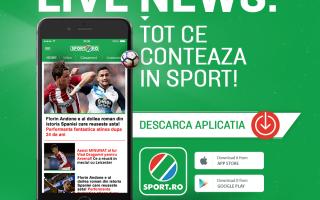 aplicatia sport.ro