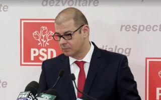 Adrian Dobre, purtator de cuvant PSD