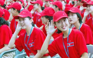 majorete Coreea de Nord