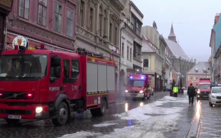incendiu Brașov