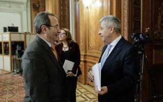 Valer Dorneanu și Florin Iordache