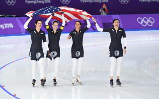 Patinaj viteza echipa SUA