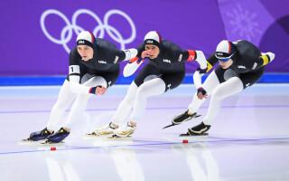 Echipa Sua patinaj viteza