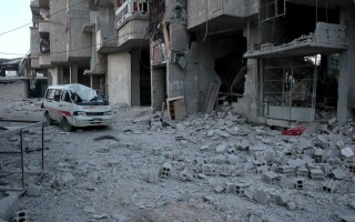 bombardament siria