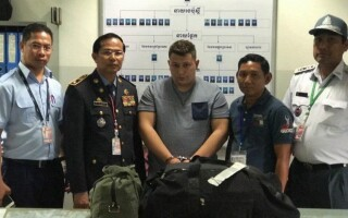 roman arestat in Cambodgia