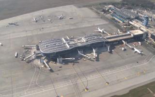 terminal, otopeni, aeroport,