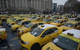 Protest al taximetristilor