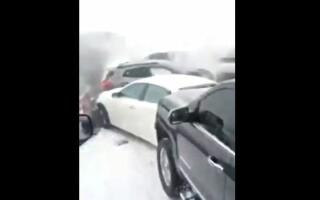 autostrada, accidente, sua, Missouri,