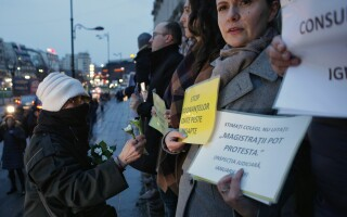proteste ale magistratilor