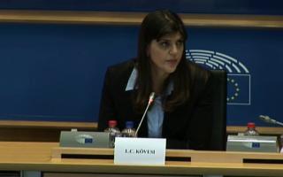 Laura Codruța Kovesi, Parlamentul European