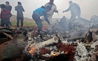 Avion doborat Siria - 1
