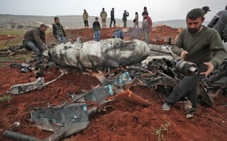 Avion doborat Siria - 3