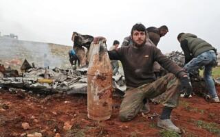 Avion doborat Siria - 4
