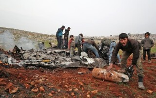 Avion doborat Siria - 5
