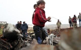 Avion doborat Siria - 7