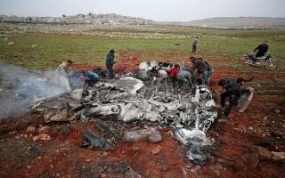 Avion doborat Siria - 8