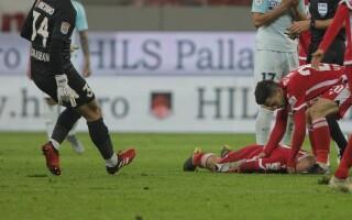 Momente de panică la meciul Dinamo - FCSB - 2