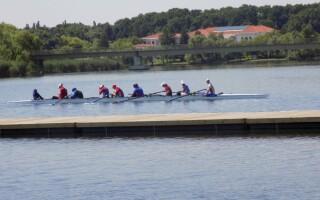 Panică la baza olimpică Snagov, după ce lotul de kaiac-canoe revine din Italia