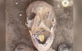 Mumia cu limba de aur