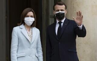Emmanuel Macron, Maia Sandu