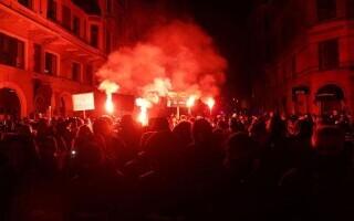 Proteste la Copenhaga