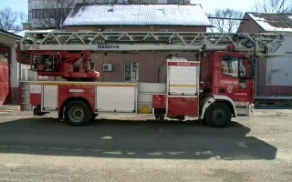 pompieri, masina