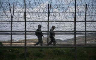 Granița dintre Coreea de Nord și Coreea de Sud