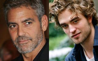 George Clooney, Robert Pattinson