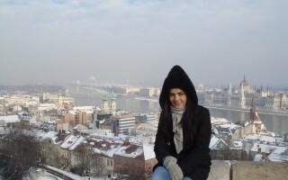 Adriela Morar la Budapesta