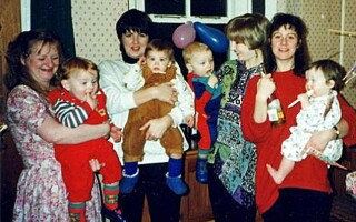 bebelusi, poza de familie