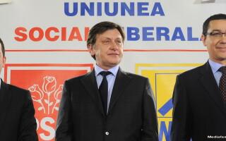 Victor Ponta, Crin Antonescu si Daniel Constantin | USL