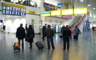 calatori, aeroport, Marea Britanie