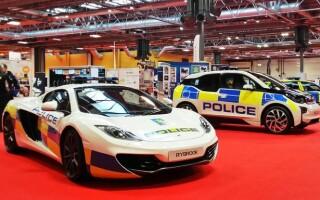 mclaren politie britanica