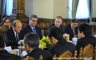 Traian Basescu, Teodor Baconschi, Daniel Funeriu,