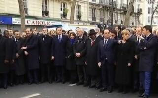 lideri, marsul solidaritatii Paris
