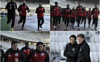 """""""U"""" Cluj s-a reunit cu o singura noutate si cu gandul la Cupa Romaniei: """"Vrem sa ajungem in finala"""""""