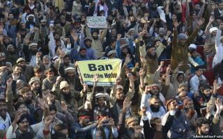 Proteste Pakistan contra Charlie Hebdo