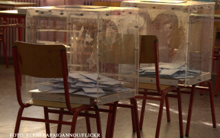 urne de vot in Grecia