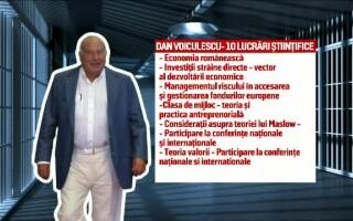 Dan Voiculescu, lucrari stiintifice