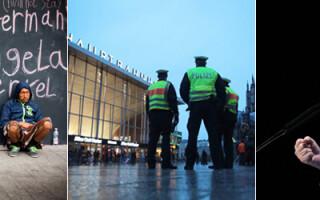 cover Merkel refugiati politie Germania