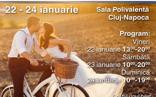 Transilvania Wedding Fair, in weekend la Sala Polivalenta din Cluj-Napoca