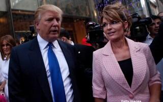 Donald Trump si Sarah Palin