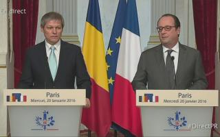 Dacian Ciolos - Hollande