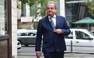 Vasile Blaga soseste la sediul DNA