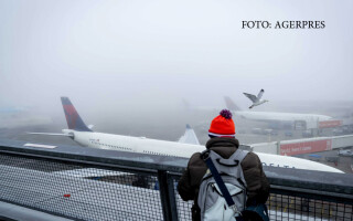 ceata pe aeroportul Schiphol