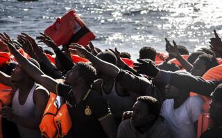 migranti naufragiati in Mediterana - Agerpes