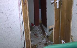 apartament distrus