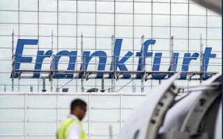 Aeroportul din Frankfurt